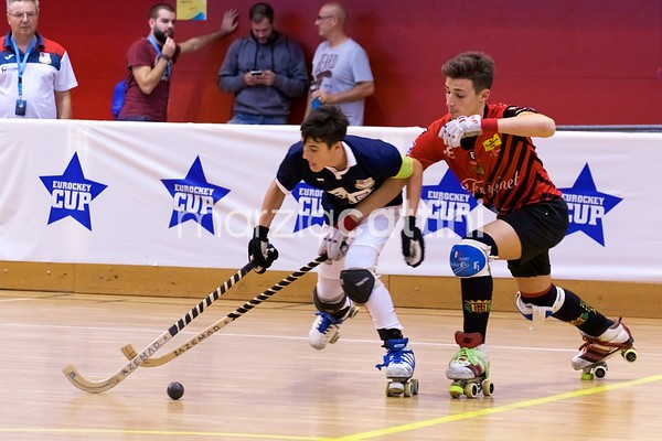 U17 Eurockey Cup 2017 - Correggio Hockey vs CE Noia