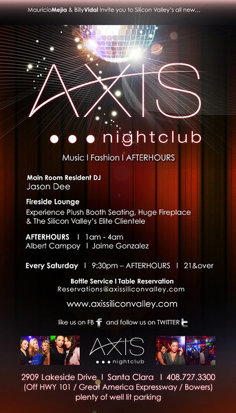 Axis Saturdays @ AXIS Nightclub 11.17.12