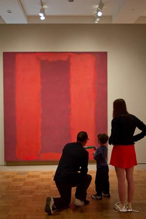 Portland Art Museum - Rothko exibit
