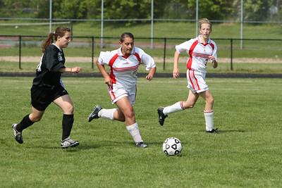 Girls JV Soccer - 5/21/2007 Ludington