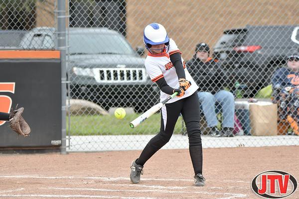 Softball Dexter at Jackson High School for 04-19-2021.