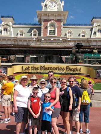 """""""Walt Disney World"""" with Nancy's Family- March, 2012"""