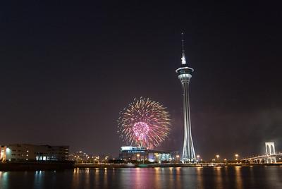 2012-10-01 Macau Fireworks
