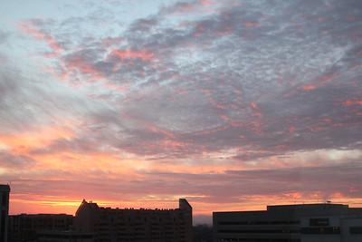 Sunrise in Arlington, Va.