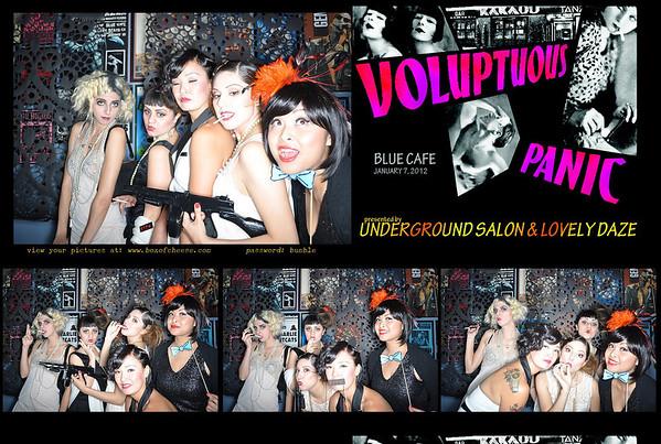 01-07-2012 Underground Salon - Voluptuous Panic