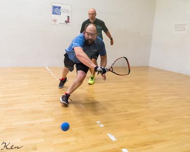 Seniors 35+ Mike Mesecke (GER) over Paul Dingwitz (USA)