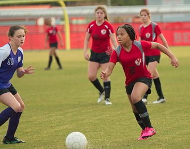BMS vs Ben Hill Middle School Soccer 2021