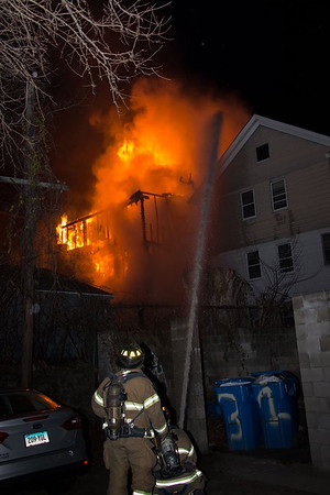 House Fire - 81 Robbins St, Waterbury, CT - 11/29/16