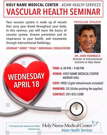 2018 AHS Vascular Health Seminar