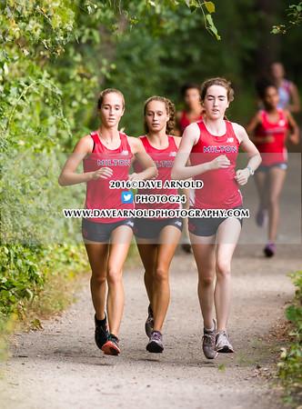 9/14/2016 - Girls Varsity Cross Country - Brookline, Dedham, Milton, Needham