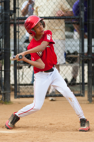 Jack strikes out in the top of the 4th inning. The Nationals started out their season with a 4-1 win over the Pirates. 2012 Arlington Little League Baseball, Majors Division. Nationals vs Pirates (14 Apr 2012) (Image taken by Patrick R. Kane on 14 Apr 2012 with Canon EOS-1D Mark III at ISO 200, f2.8, 1/1250 sec and 200mm)