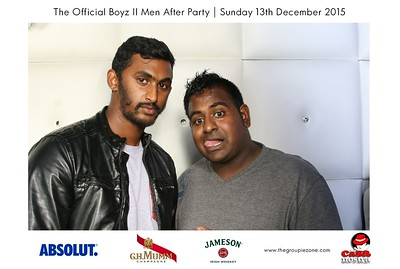The Official Boyz II Men After Party