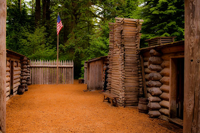 Fort Clatsop,  The End Of The Lewis and Clark Journey West