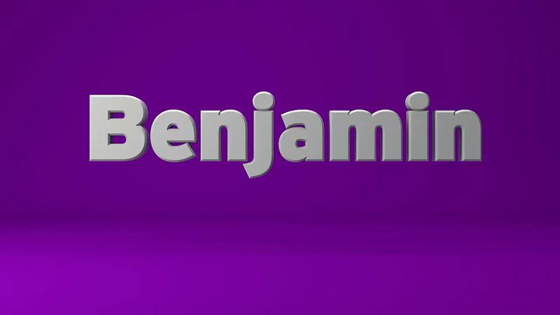 Benjamin VO Sample