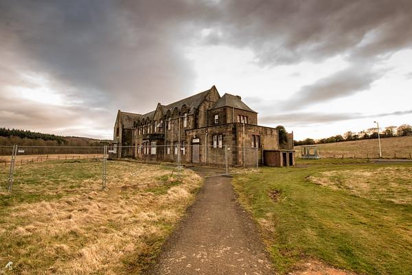 Ruined Hospital, West Lothian, Scotland