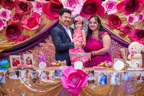 Ishana Maniraja 1st Birthday