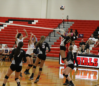 BL Varsity Volleyball vs JJ Pierce @ Coppell (8/12/13)