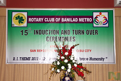 Rotary Club of Banilad Metro 15th Induction & Turn Over Ceremonies