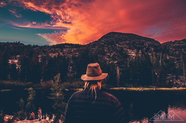 Camping in Desolation Wilderness