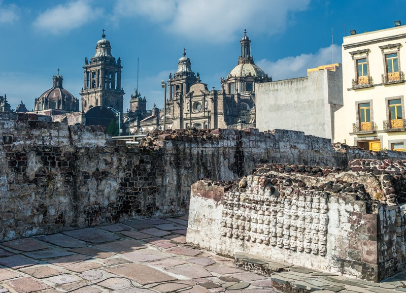 museo templo mayor - 3 days in mexico city