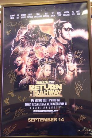 """2019-09-14 WrestlePro: """"Return To Rahway""""@ Rahway, NJ"""