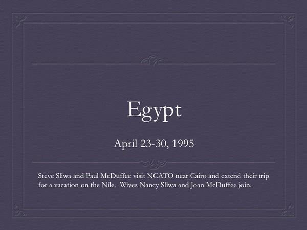 Egypt 1995