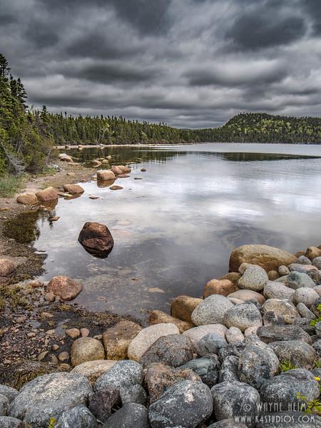 Rocky Shore   Photography by Wayne Heim