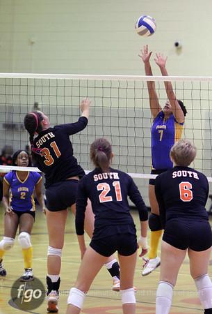 Edison v South Volleyball 10-5-10