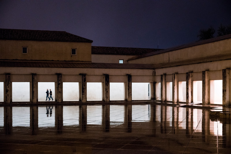 Backyard of CAAC (Centro Andaluz de Arte Contemporáneo), former Cartuja Monastery, Seville, Spain