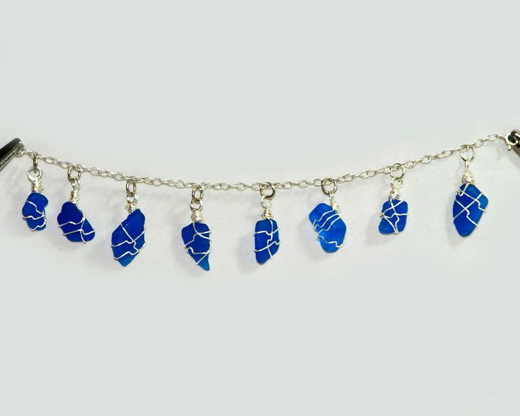 Blue Beach Glass