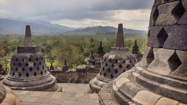 Treading the footsteps to enlightenment: The mystical temple of Borobudur