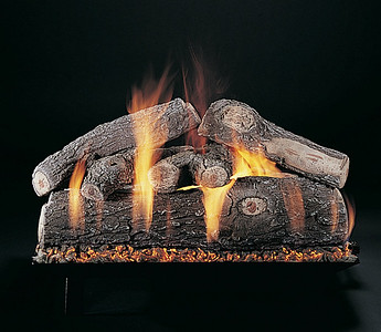 Vented Gas Logs on CS Burner