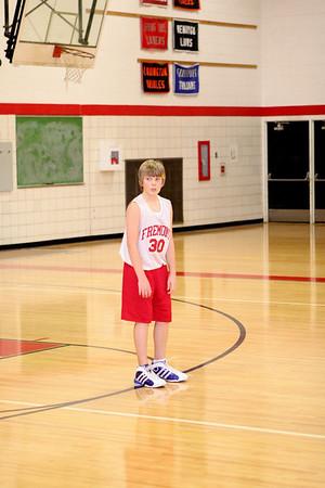 Middle School Boys Basketball 7B - 2007-2008 - 1/9/2008 Newaygo