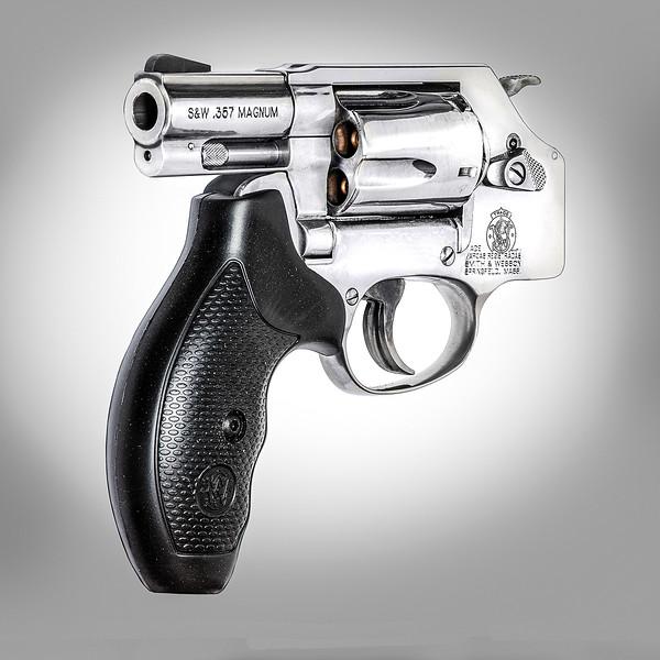 Super safe revolver.