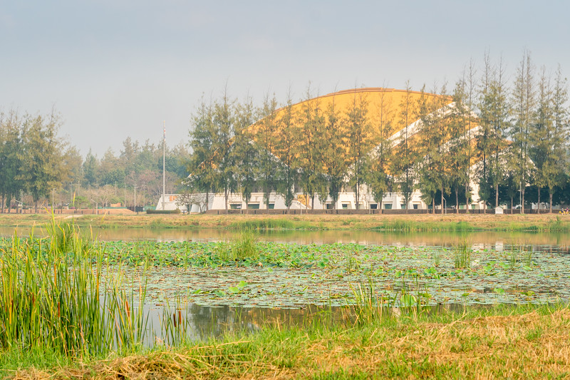 Lake at Golden Jubilee Convention Hall