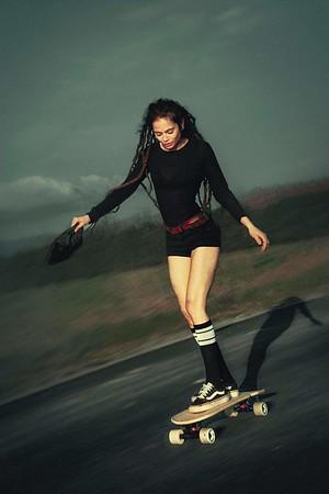 Skateboard hotties
