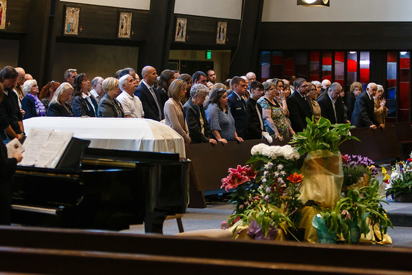 May 4, 2015 - Frank Gabrielli's Funeral