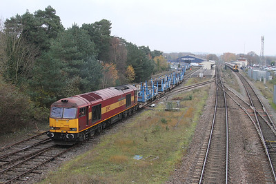 6Y21 Eastleigh to Ludgershall
