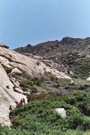 4/19/2005 - Rockclimbing @ Big Rock Perris Lake