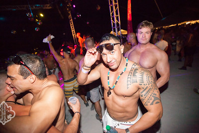 White Party Miami -  Muscle Beach