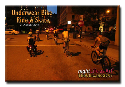 31 august 2014 Underwear Bike Ride & Skate