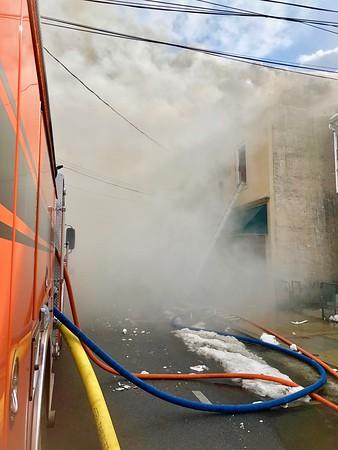 Multiple Alarm Fire, Sleepy Hollow, NY on Barnhart Ave. 3/7/19