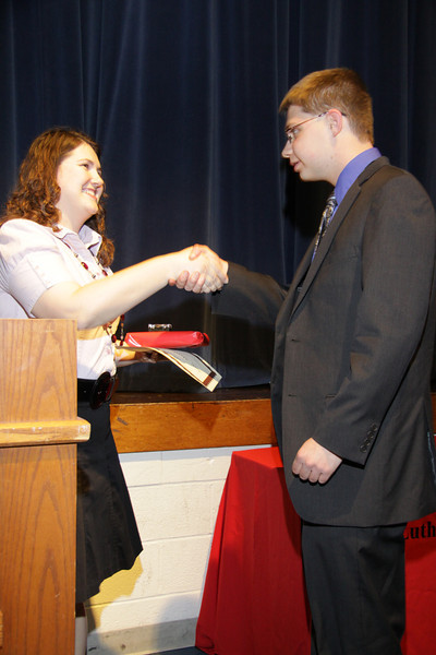 Awards Night 2012 - Student of the Year: German 3