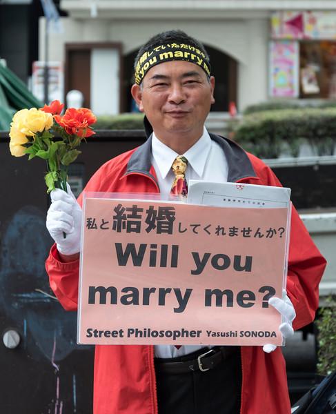 Street Philosopher, Tokyo