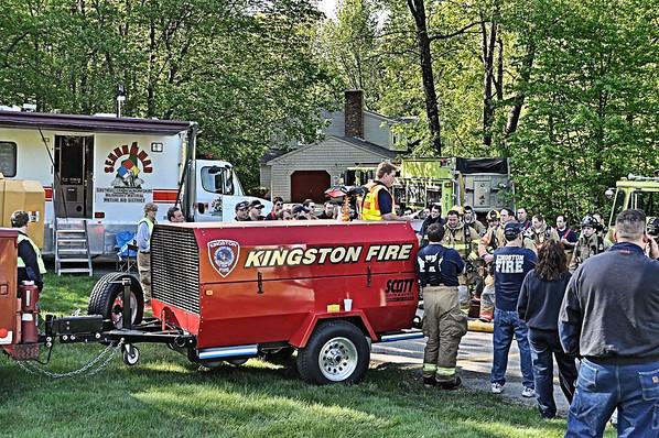 Hampstead Training burn 5-15-10