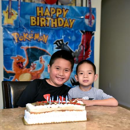 Jason's 8th Birthday
