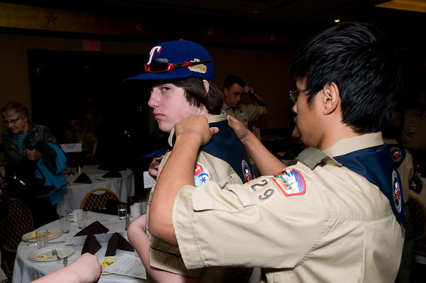 2012 Boy Scout Parade and Report to State
