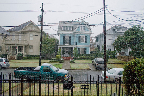 The Day it Snowed in New Orleans '08