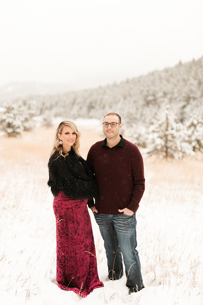 Kristina & Adam Maternity Session - Evergreen, CO