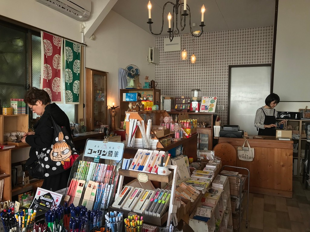 Kotori, a charming stationery shop.